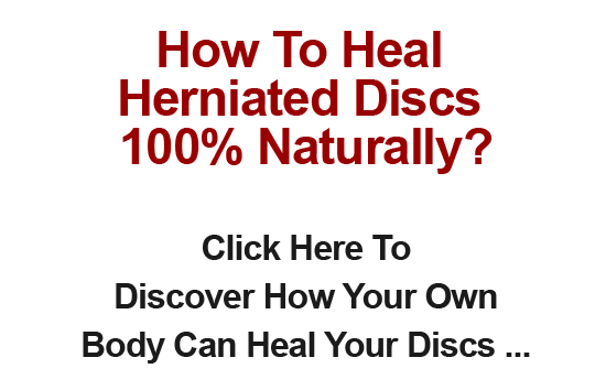 Can A Herniated Disc Heal Naturally