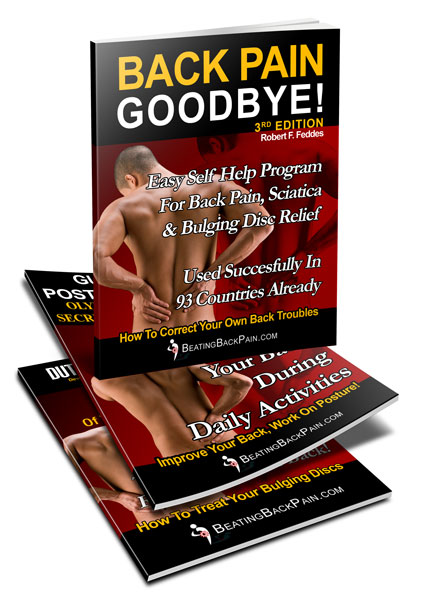 Back Pain Relief Self Help Program .